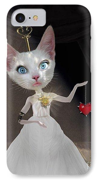 Miss Kitty IPhone Case by Juli Scalzi