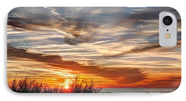 Mississippi Gulf Coast Sunset Phone Case by Joan McCool