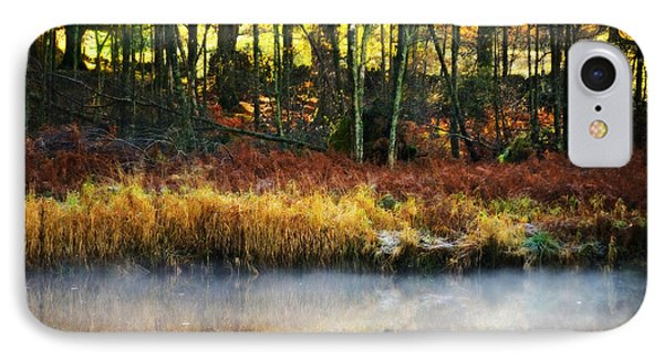 Mist On The Water Phone Case by Meirion Matthias