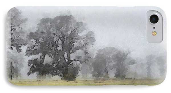 Misty Morn IPhone Case by Paulette B Wright