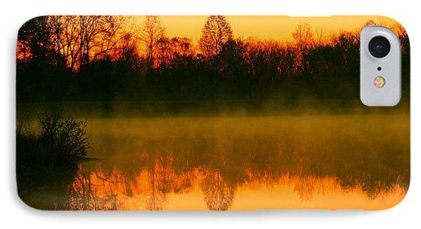 Misty Sunrise Phone Case by Morgan Hill