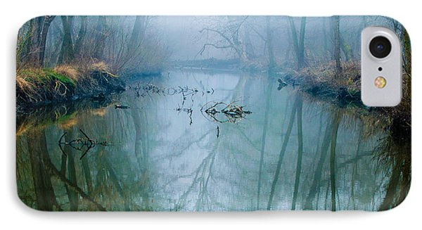 Misty Swamp IPhone Case by Caio Caldas