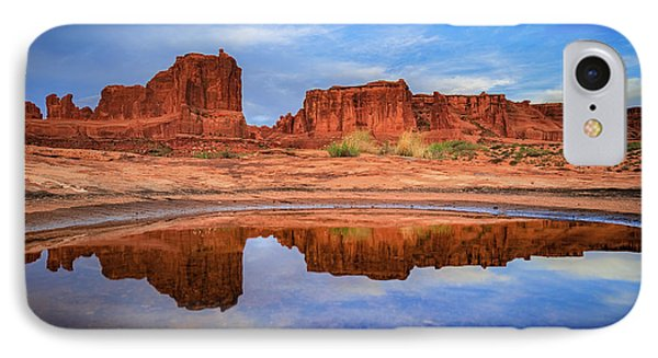 Moab Reflections IPhone Case by Edgars Erglis