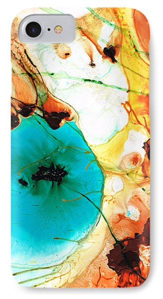 Modern Art - Potential - Sharon Cummings IPhone Case by Sharon Cummings