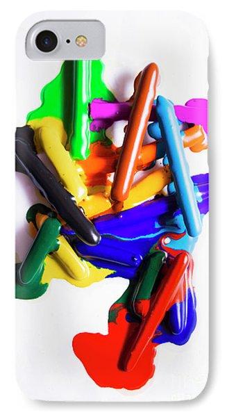 Modern Rainbow Art IPhone Case by Jorgo Photography - Wall Art Gallery