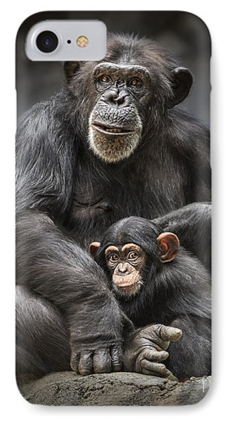 Mom And Baby IPhone Case by Jamie Pham