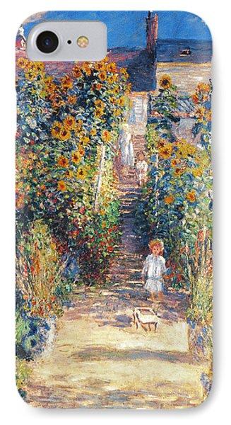 Monet: Garden/vetheuil IPhone Case by Granger