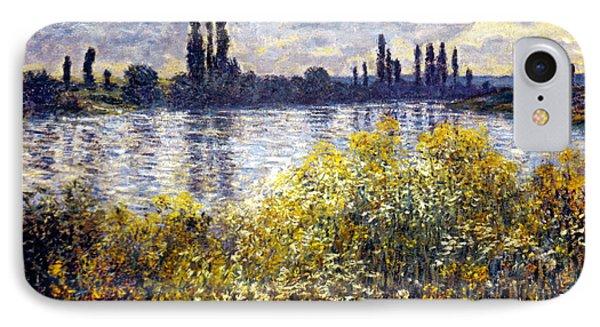 Monet: Seine/vetheil, 1880 IPhone Case by Granger