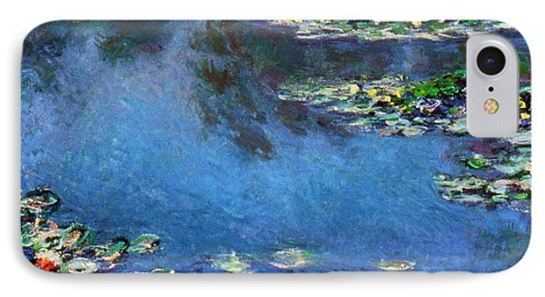 Monet: Waterlilies, 1906 Phone Case by Granger