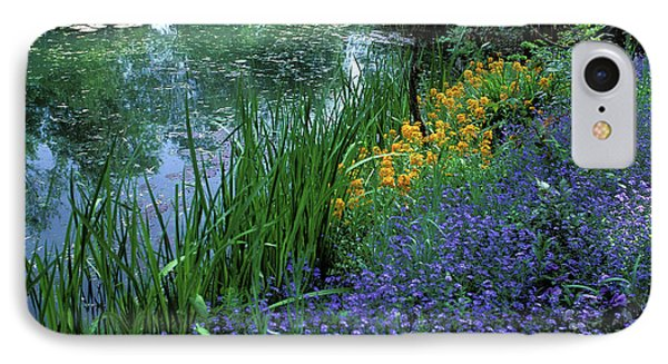 Monet's Lily Pond Phone Case by Kathy Yates