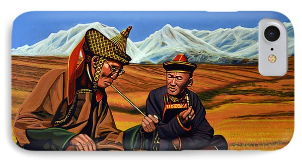 Mongolia Land Of The Eternal Blue Sky IPhone Case by Paul Meijering