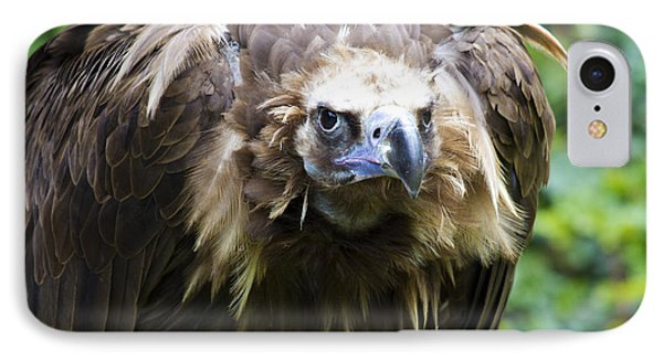 Monk Vulture 3 IPhone 7 Case by Heiko Koehrer-Wagner