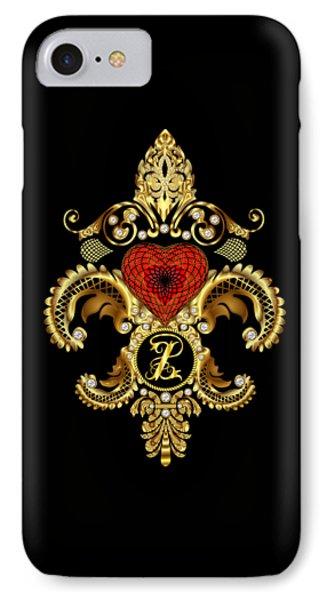 Monogram Z Style 1 Duvets Transparent Back Pick Color IPhone Case by Bill Campitelle