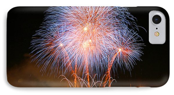 Montreal Fireworks Celebration  Phone Case by Pierre Leclerc Photography