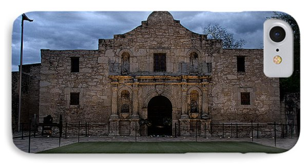 Moody Morning At The Alamo IPhone Case by Jemmy Archer
