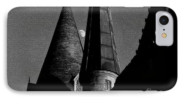 Moon Over Hogwarts Phone Case by David Lee Thompson