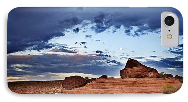 Moon Rising IPhone Case by Michael Knight