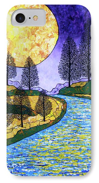 Moon River IPhone Case by Tracy Levesque