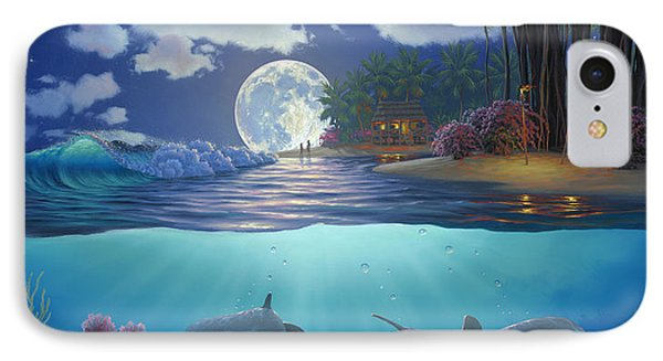 Moonlit Sanctuary IPhone Case by Al Hogue