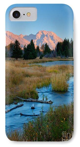 Moran Morning Phone Case by Idaho Scenic Images Linda Lantzy