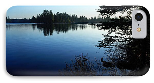 Morning On Chad Lake Phone Case by Larry Ricker