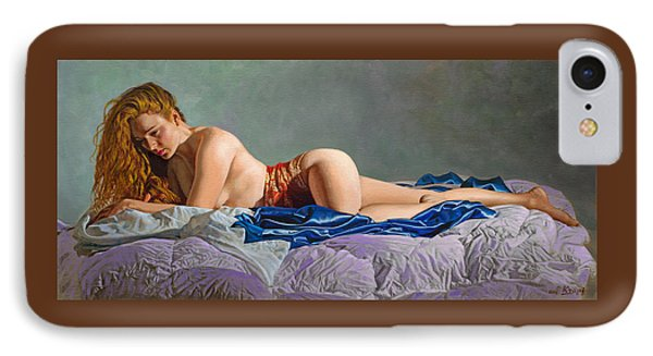 Morning IPhone Case by Paul Krapf