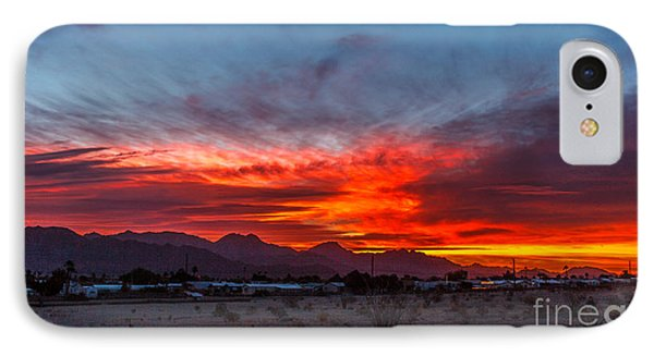 Morning View IPhone Case by Robert Bales