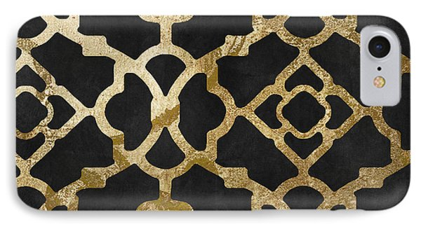 Moroccan Gold IIi IPhone Case by Mindy Sommers