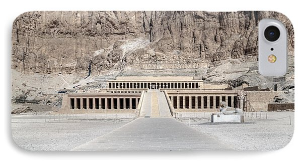 Mortuary Temple Of Hatshepsut - Egypt IPhone Case by Joana Kruse