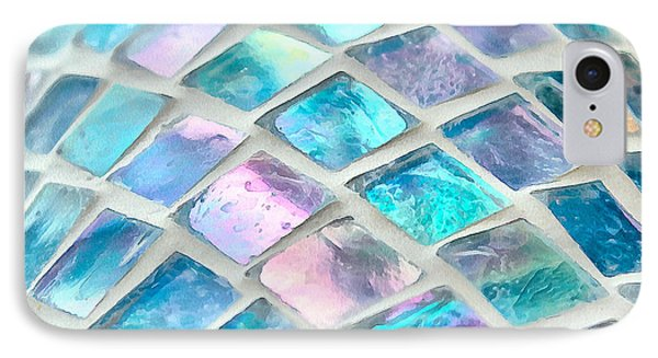 Mosaic Of Color IPhone Case by Krissy Katsimbras