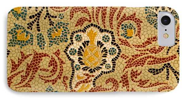 Mosaic Textile Pattern IPhone Case by English School