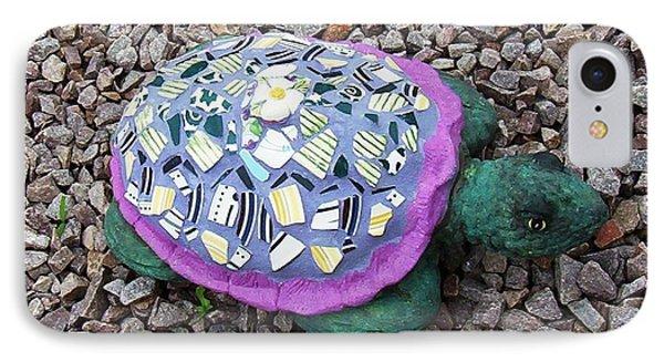 Mosaic Turtle Phone Case by Jamie Frier