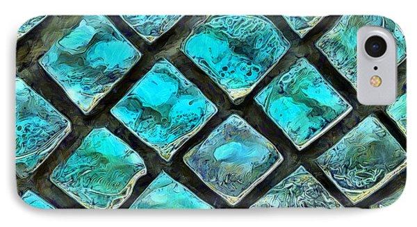 Mosaic Windows IPhone Case by Krissy Katsimbras