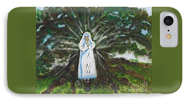 Mother Teresa In Acadiana IPhone Case by Seaux-N-Seau Soileau