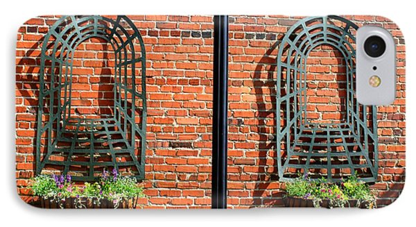 Mount Airy Alleyway IPhone Case by Kathryn Meyer