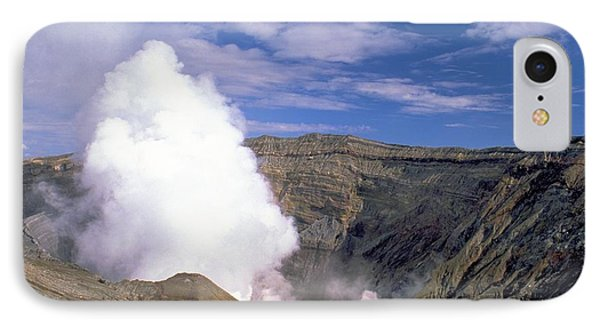 IPhone Case featuring the photograph Mount Aso by Travel Pics