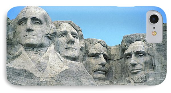 Mount Rushmore IPhone Case by American School