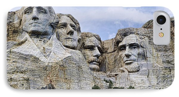 Mount Rushmore National Monument Phone Case by Jon Berghoff