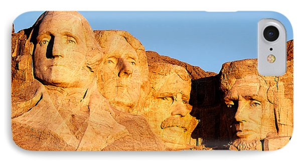 Mount Rushmore IPhone 7 Case by Todd Klassy