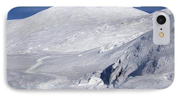 Mount Washington - White Mountain New Hampshire Usa Winter Phone Case by Erin Paul Donovan