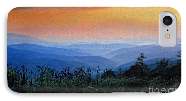 Mountain Sunrise Phone Case by Lois Bryan