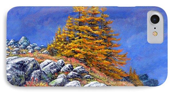Mountain Tamaracks IPhone Case by Frank Wilson