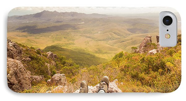 Mountain Valley Landscape IPhone Case by Jorgo Photography - Wall Art Gallery