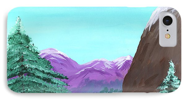 Mountain View Phone Case by M Valeriano