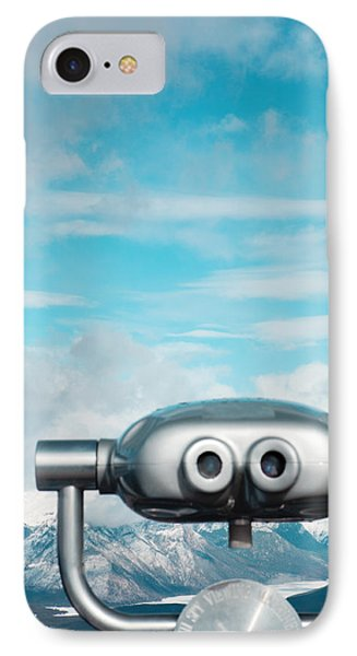 Mountaintop View IPhone Case by Kim Fearheiley