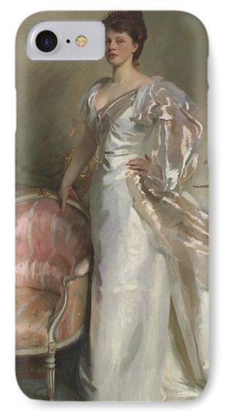 Mrs George Swinton  Elizabeth Ebsworth IPhone Case by John Singer Sargent