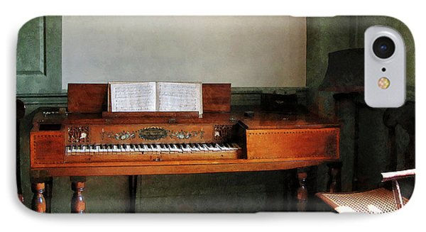Music Room With Piano Phone Case by Susan Savad