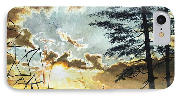 Muskoka Dawn IPhone Case by Hanne Lore Koehler