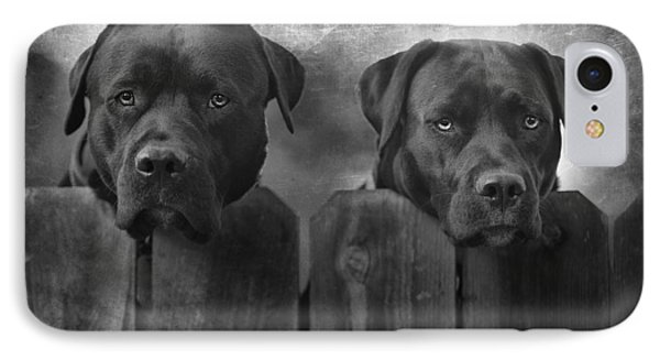 Mutt And Jeff IPhone Case by Larry Marshall