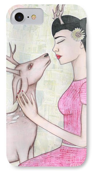 My Deer IPhone Case by Natalie Briney